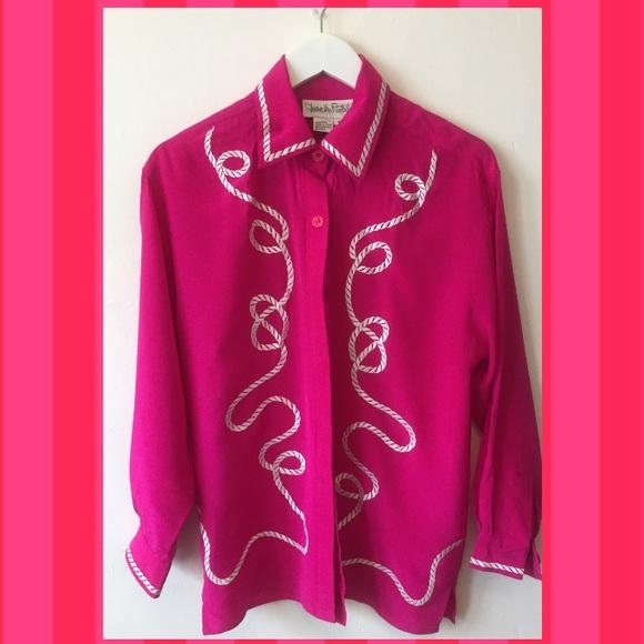 f8a4cfb762a8 Diane Von Furstenberg Tops - Vintage Diane Von Furstenberg Silk Blouse!